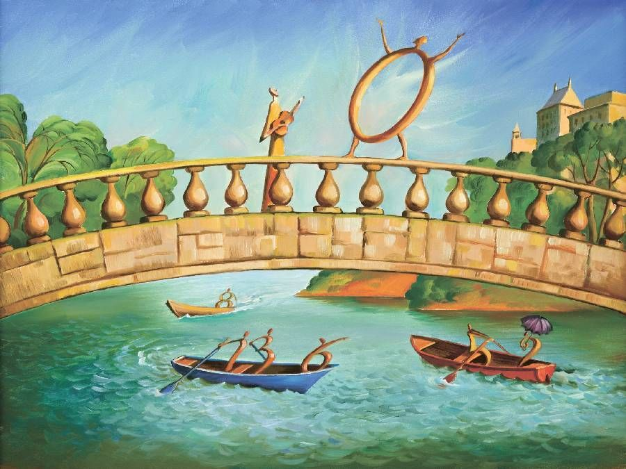 Bridge by Vladimir Kush