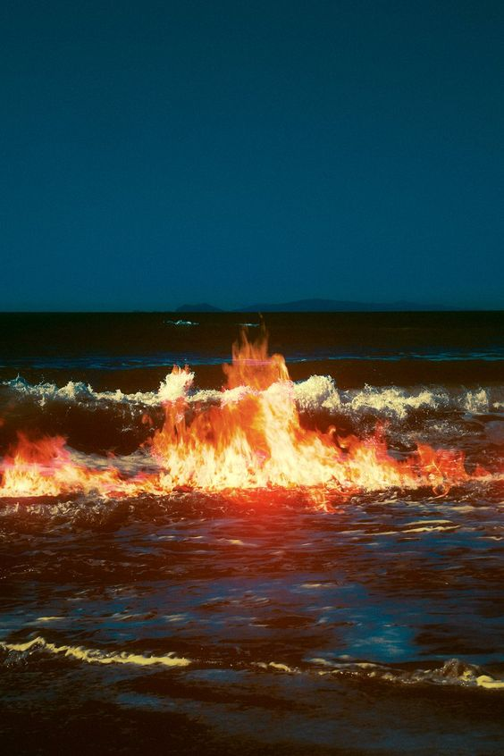 the Fire in the water