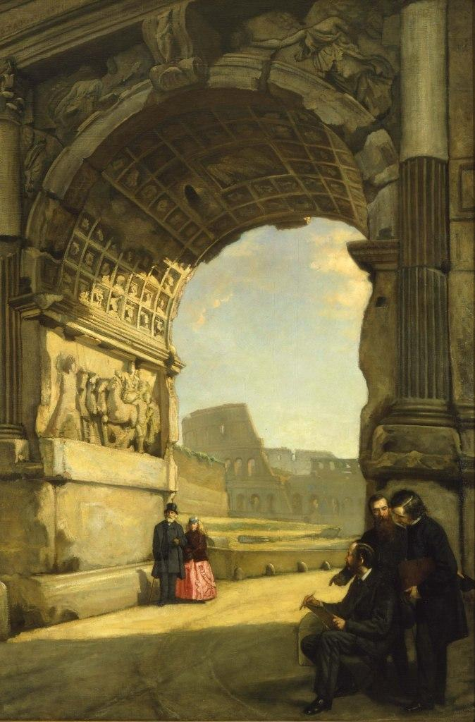 Frederic Edwin Church - Arch of Titus