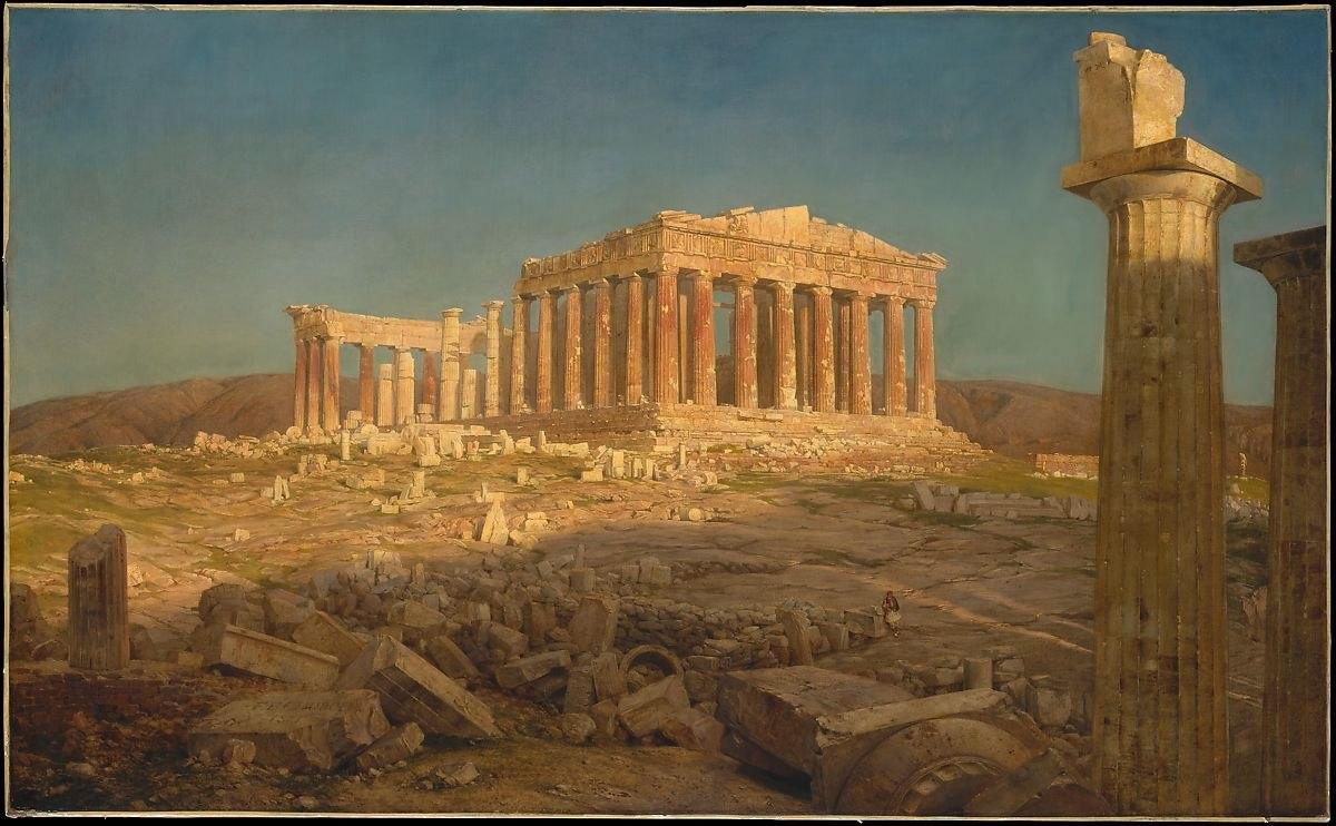 Frederic Edwin Church | The Parthenon