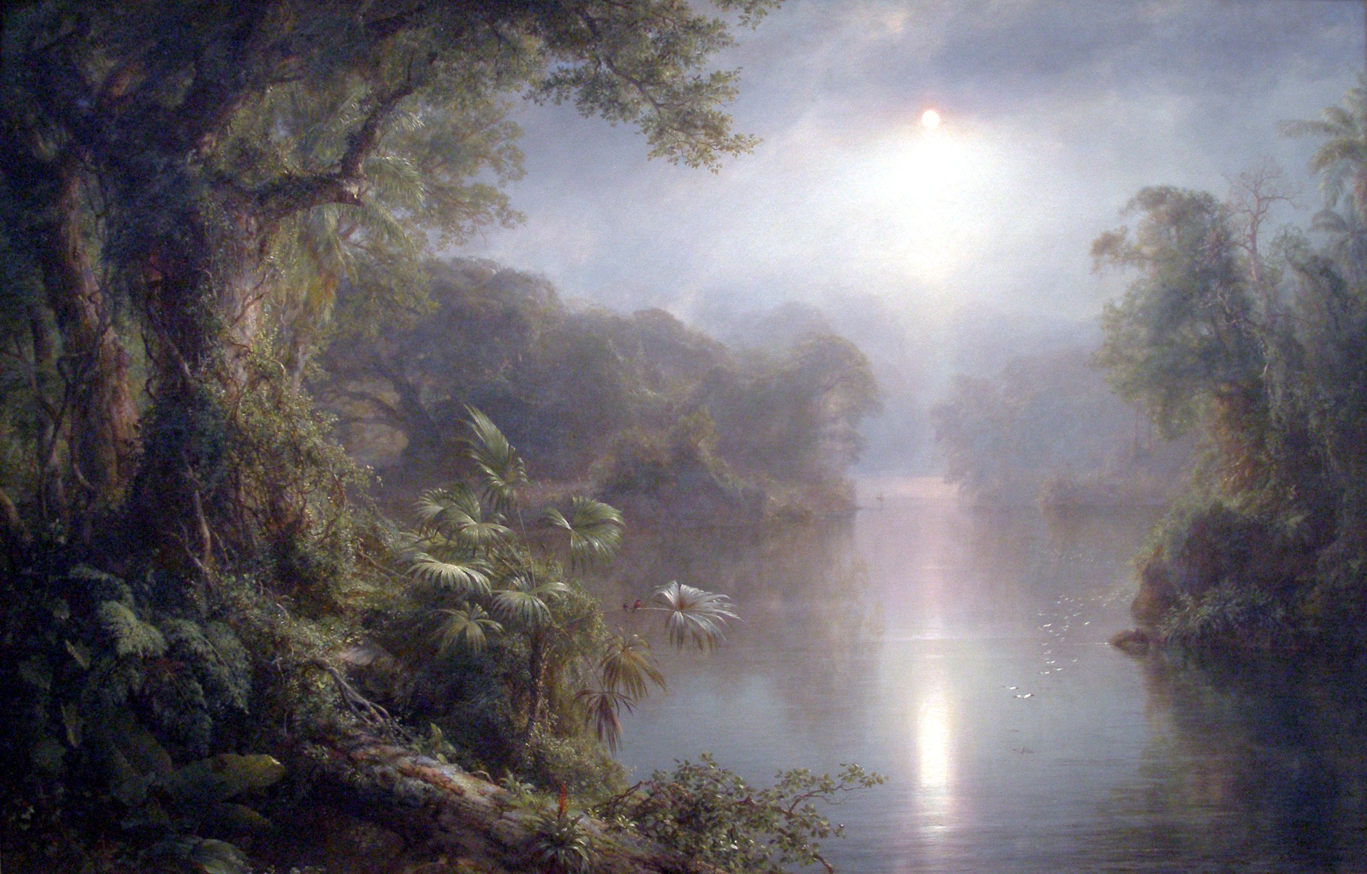 Frederic Edwin Church | The River of Light