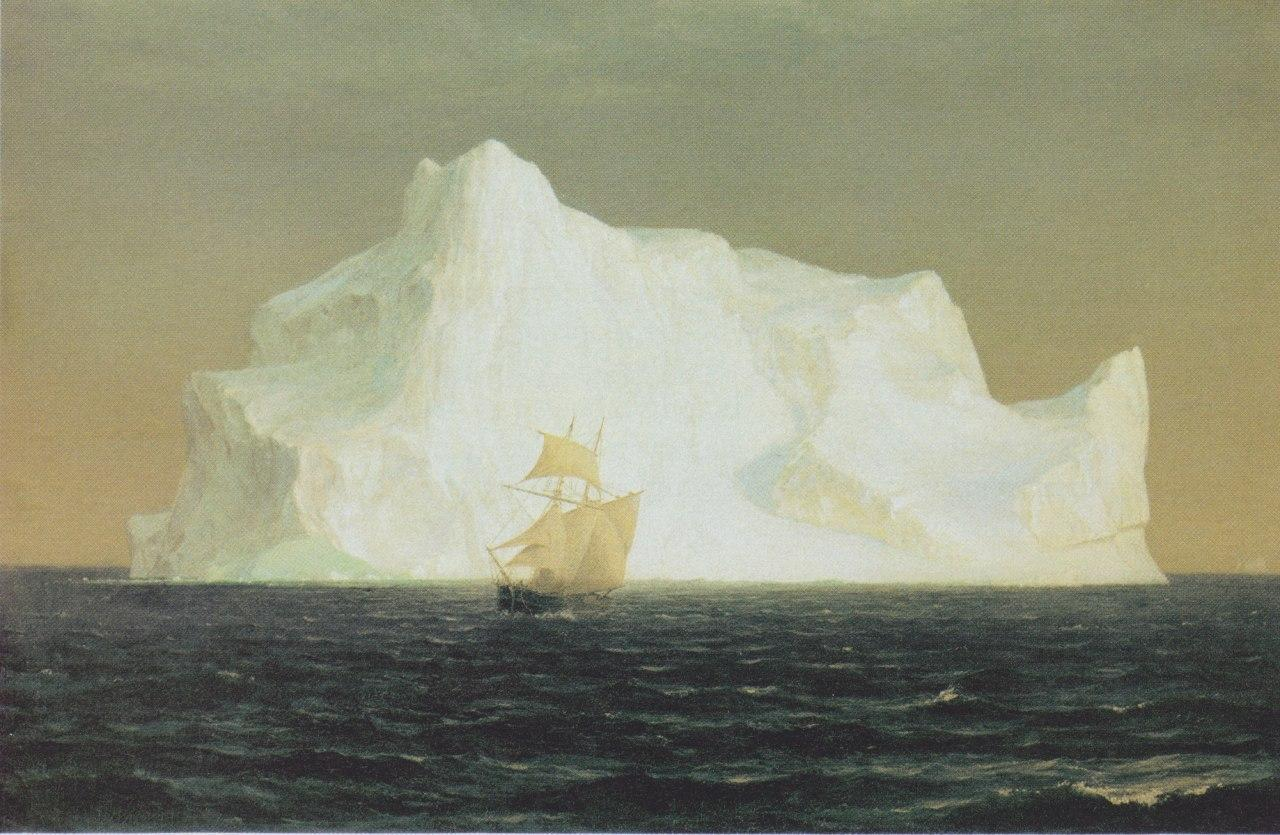 Frederic Edwin Church - The iceberg, 1891