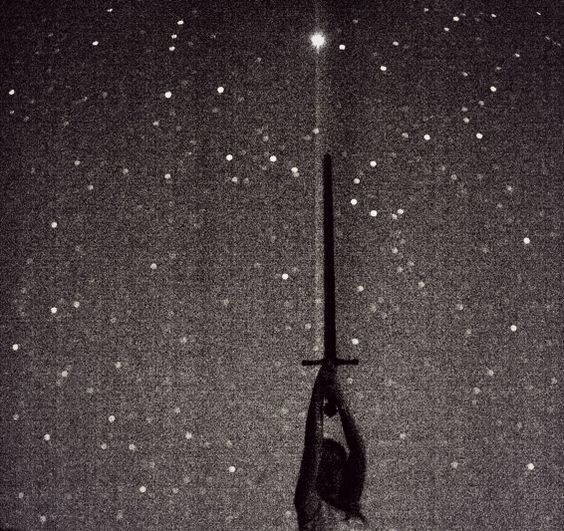 Hold the sword high and the stars sing for you