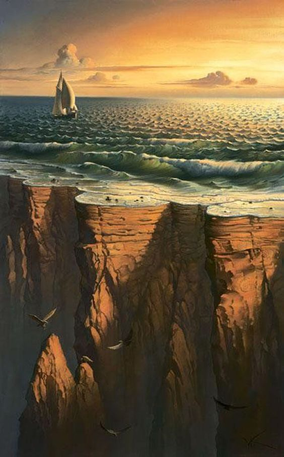 Journey to Edge of The Earth - The Amazing Surreal Art by Vladimir Kush - Metaphorical Realism ولادیمیر کوش - رئالیسم تشبیهی