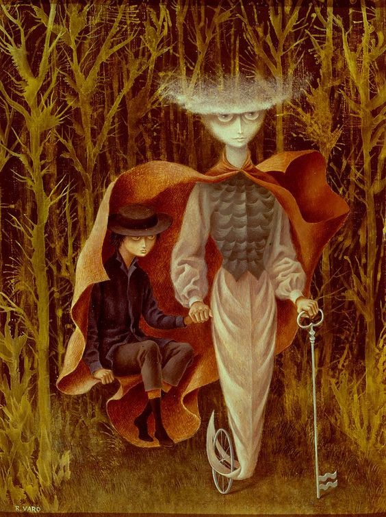 Remedios Varo (1908-1963) was an Spanish-Mexican surrealist painter. She was born in Anglés Cataluña, Spain in 1908 and died from a heart-attack in Mexico City in 1963 رمدیوس وارو - سورئالیسم