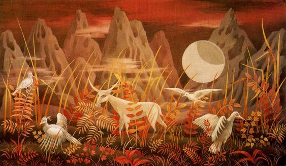 Remedios Varo-‌ Valley of the Moon