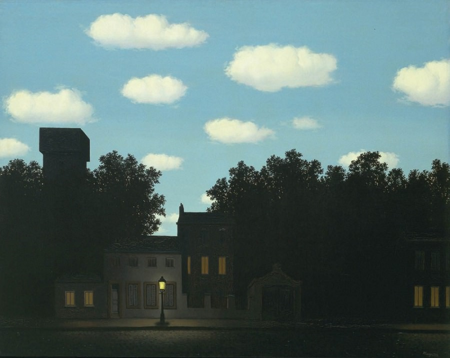 Rene Magritte - Empire of Light, 1950 delbarg_ir