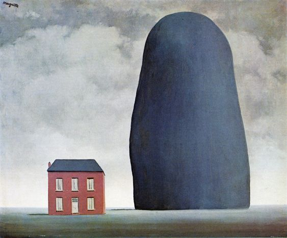 Rene Magritte - The Roses of Ispahan - رنه ماگریت