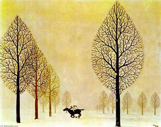 The Lost Jockey | Rene Magritte | رنه ماگریت