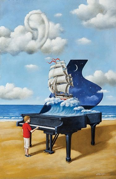 Revenge of the Interpretation by Rafal Olbinski