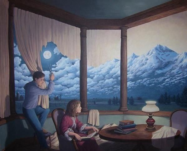 Rob Gonsalves | Change of Scenery 2 ( Making Mountains) | راب گونسالوس