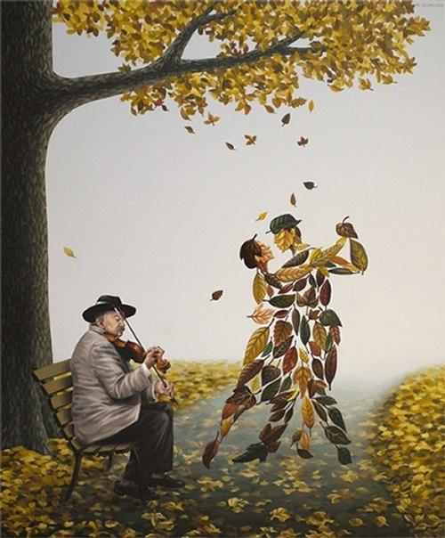 Tango of Autumn by Mihai Criste
