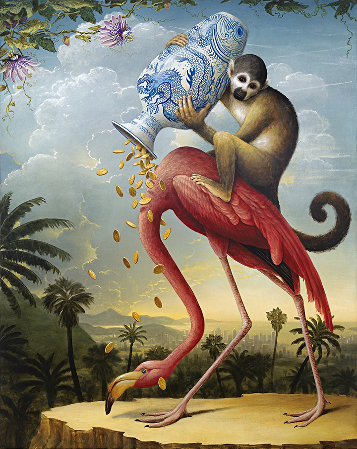 The Donation by Kevin Sloan