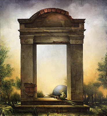 The Elysian Gate by Kevin Sloan delbarg_ir
