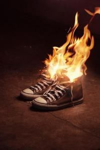 Fire shoes | کفشهای آتشین