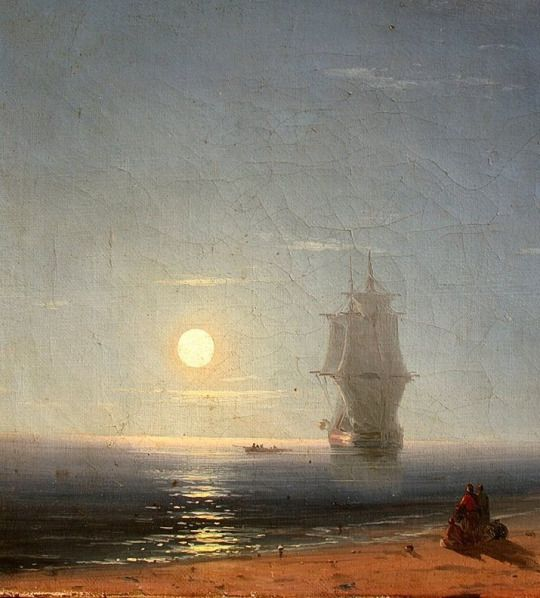 Lunar Night 1857, Ivan Aivazovsky