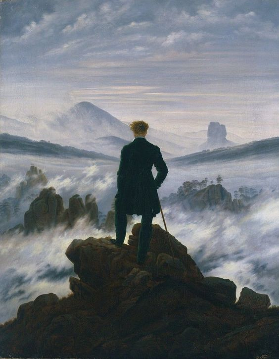 The Mysteries behind Caspar David Friedrich's Wanderer above the Sea of Fog
